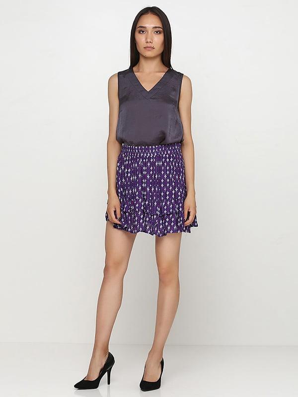 Юбка фиолетовая | 5173040