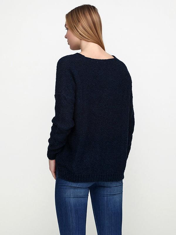 Джемпер темно-синій | 5173398