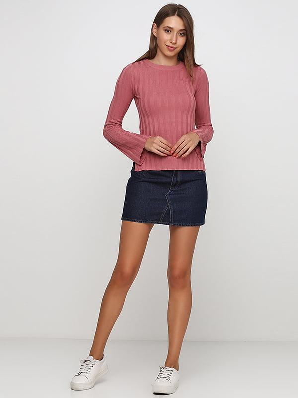 Юбка джинсовая синяя   5170262