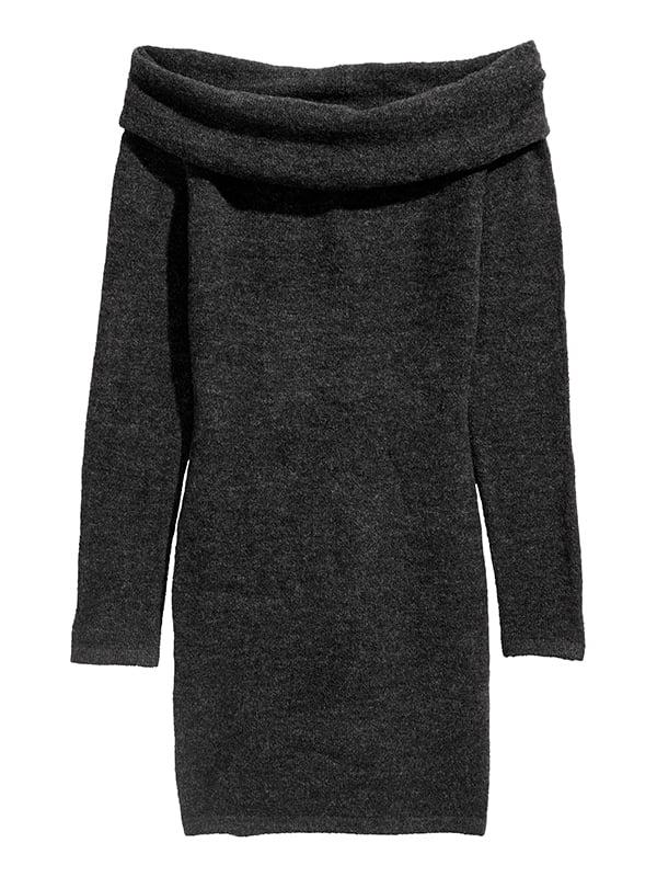 Платье темно-серое | 5171152