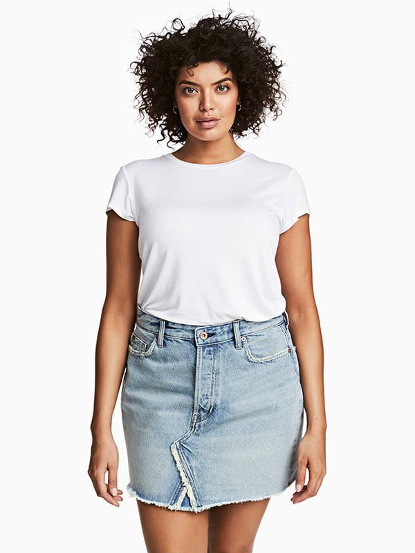 Юбка джинсовая голубая | 5171972