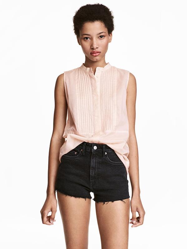 Блуза кольору пудри | 5172384
