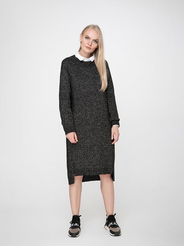 Сукня графітового кольору | 5173550
