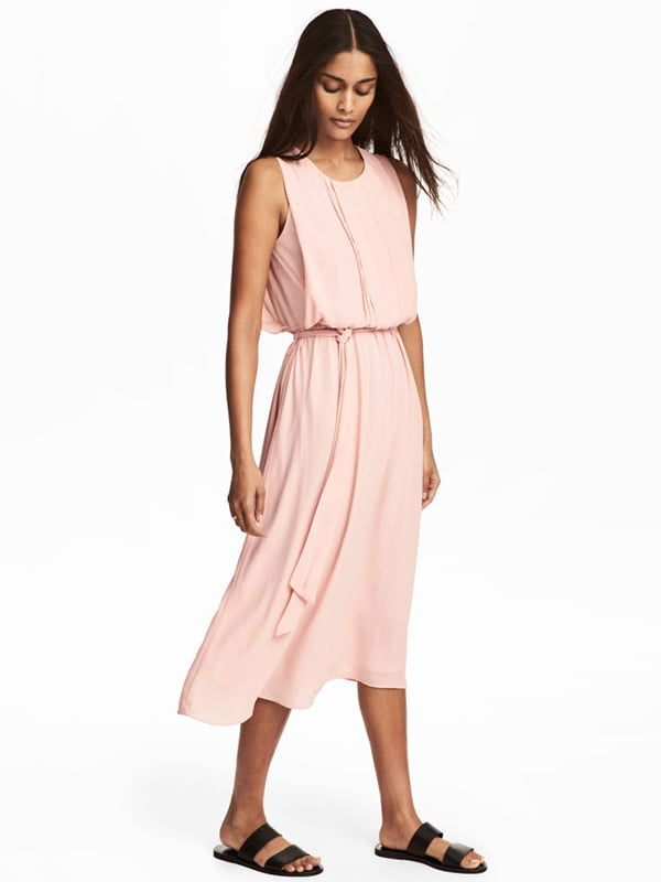 Платье цвета пудры   5176300