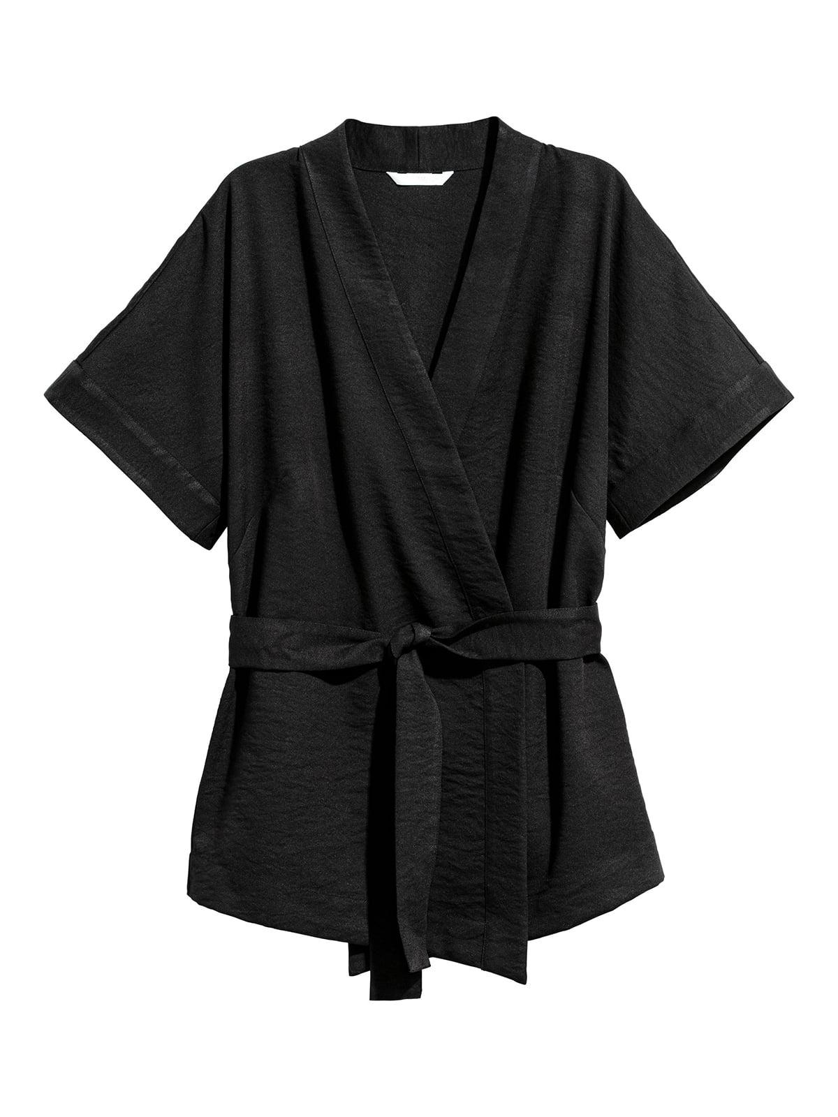 Блуза черная | 5176632