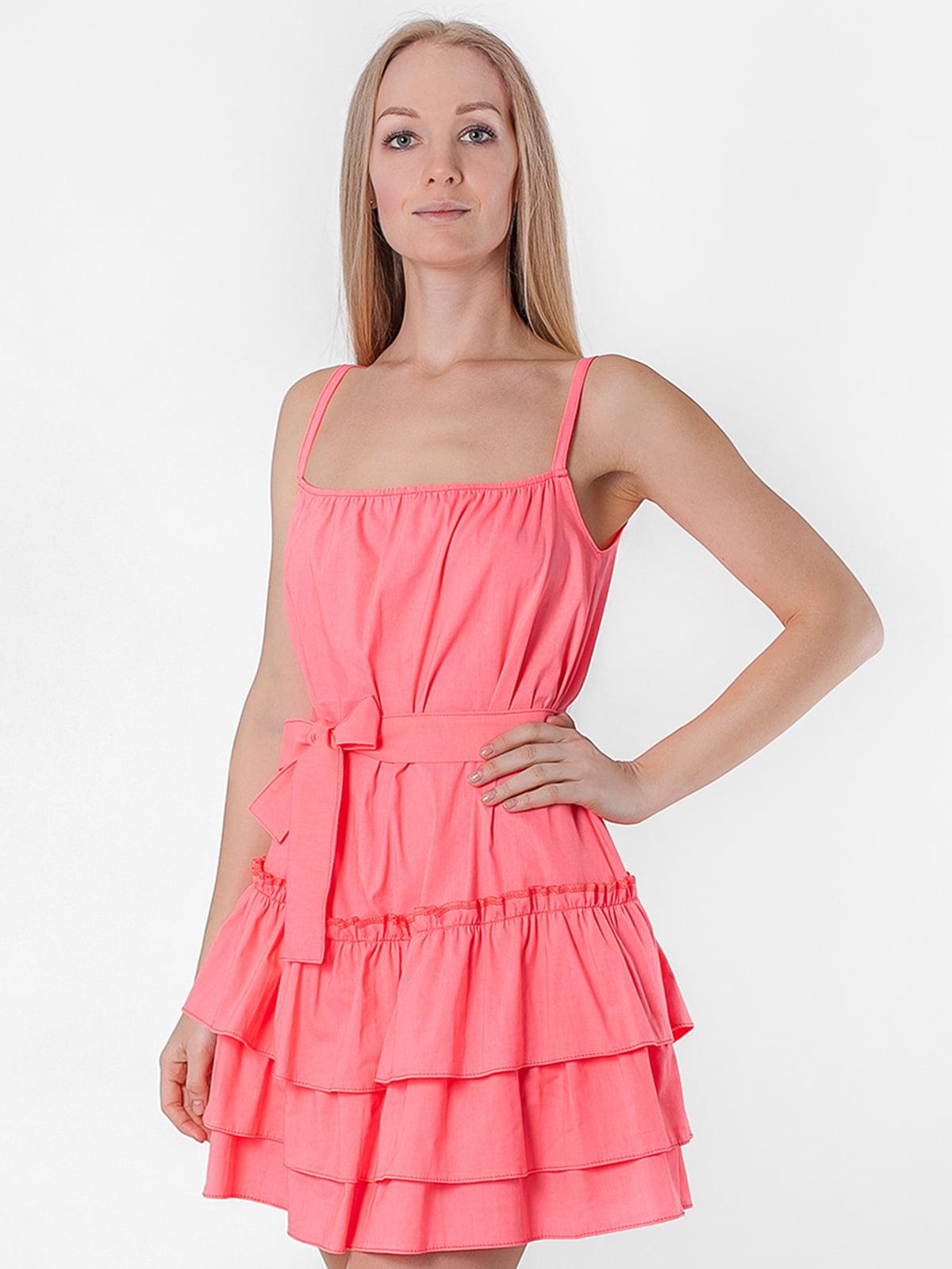 Платье коралловое | 5176998