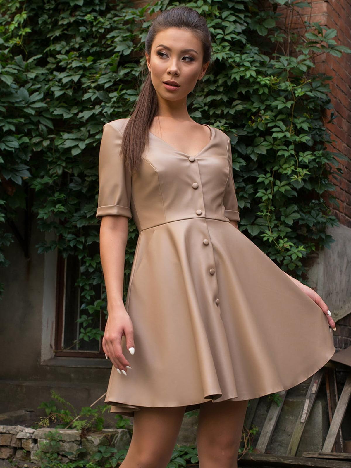 Сукня бежева | 5177069