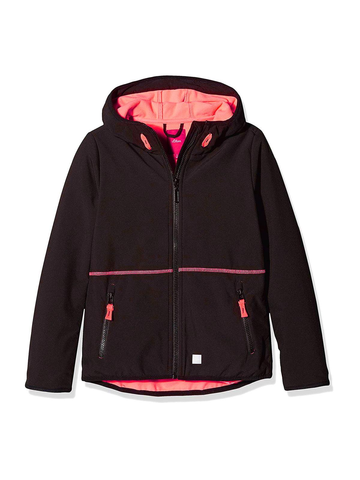 Куртка спортивна чорна | 5177254