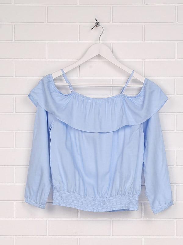 Блуза голубая | 5171548