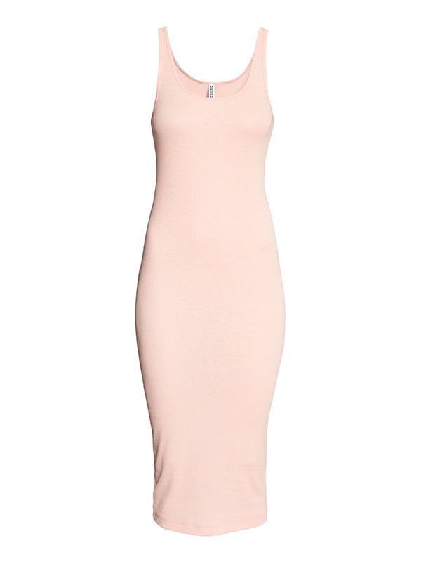 Платье цвета пудры | 5171692