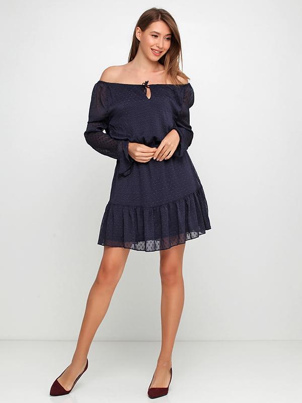 Платье темно-синее   5172658