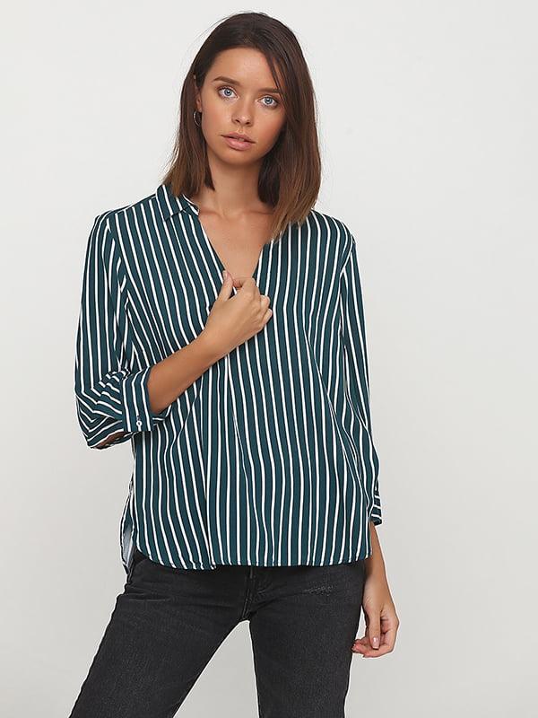 Блуза зелена | 5172761