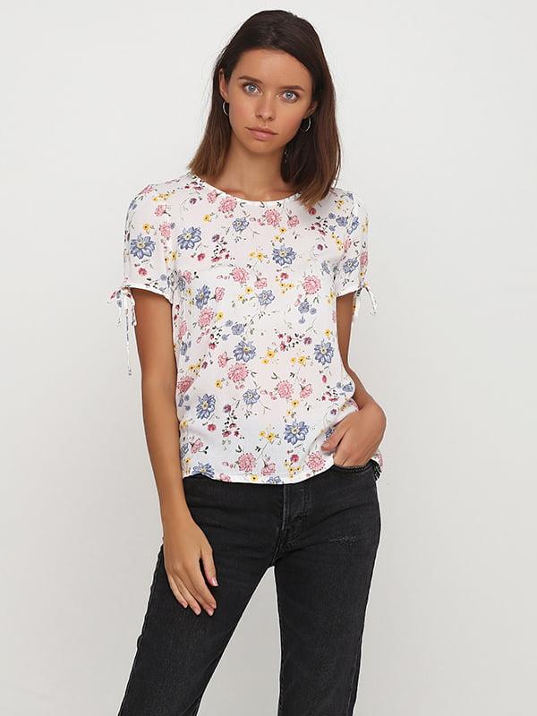 Блуза молочного кольору | 5172792