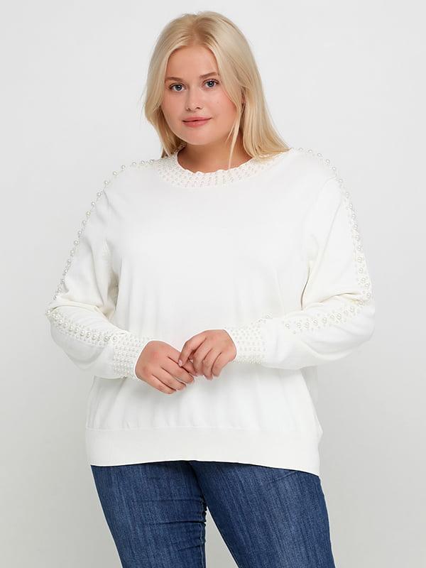 Блуза молочного цвета   5172896