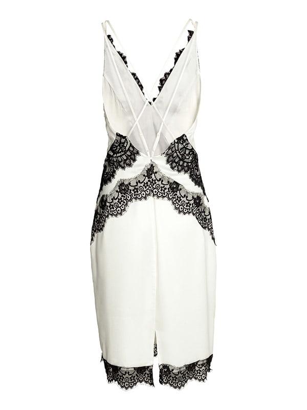 Платье черно-белое | 5176211