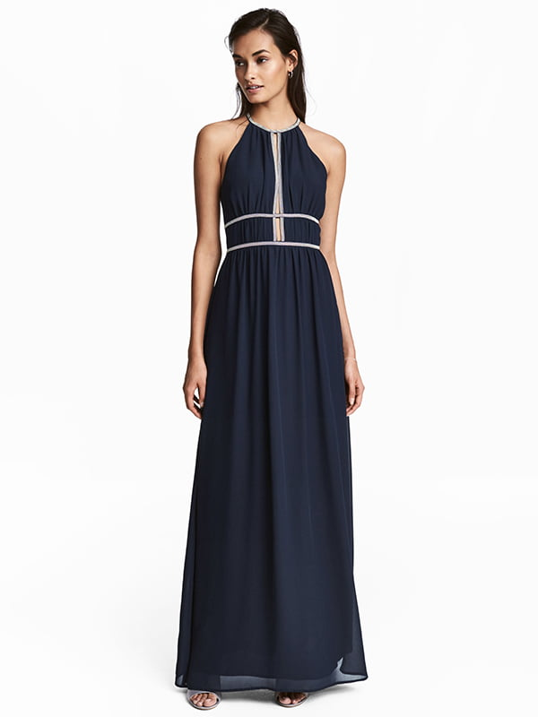 Платье темно-синее | 5176317