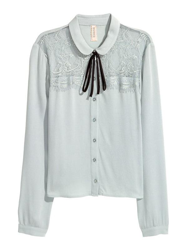 Блуза бірюзова | 5176342