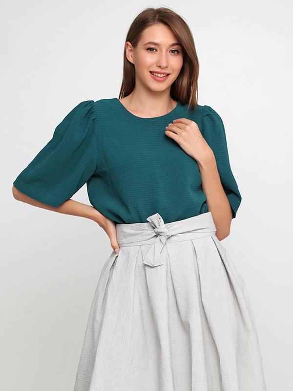 Блуза темно-зеленая   5176493