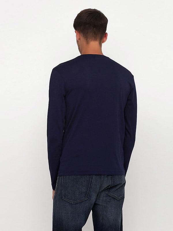 Лонгслив темно-синий   5176528