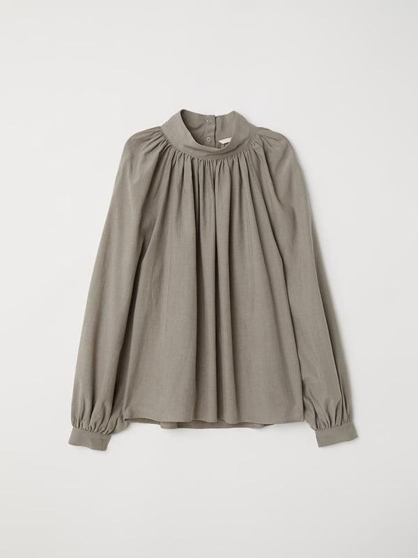 Блуза цвета хаки | 5176669