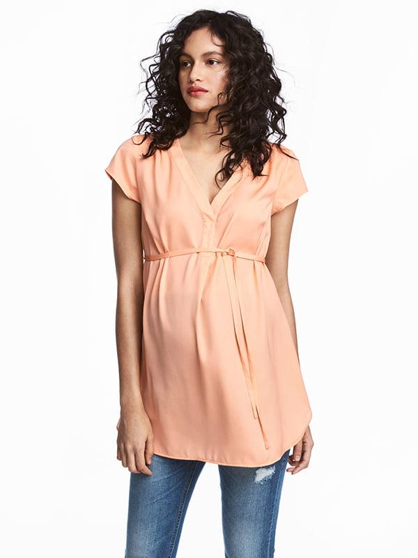 Блуза персикового цвета | 5176725