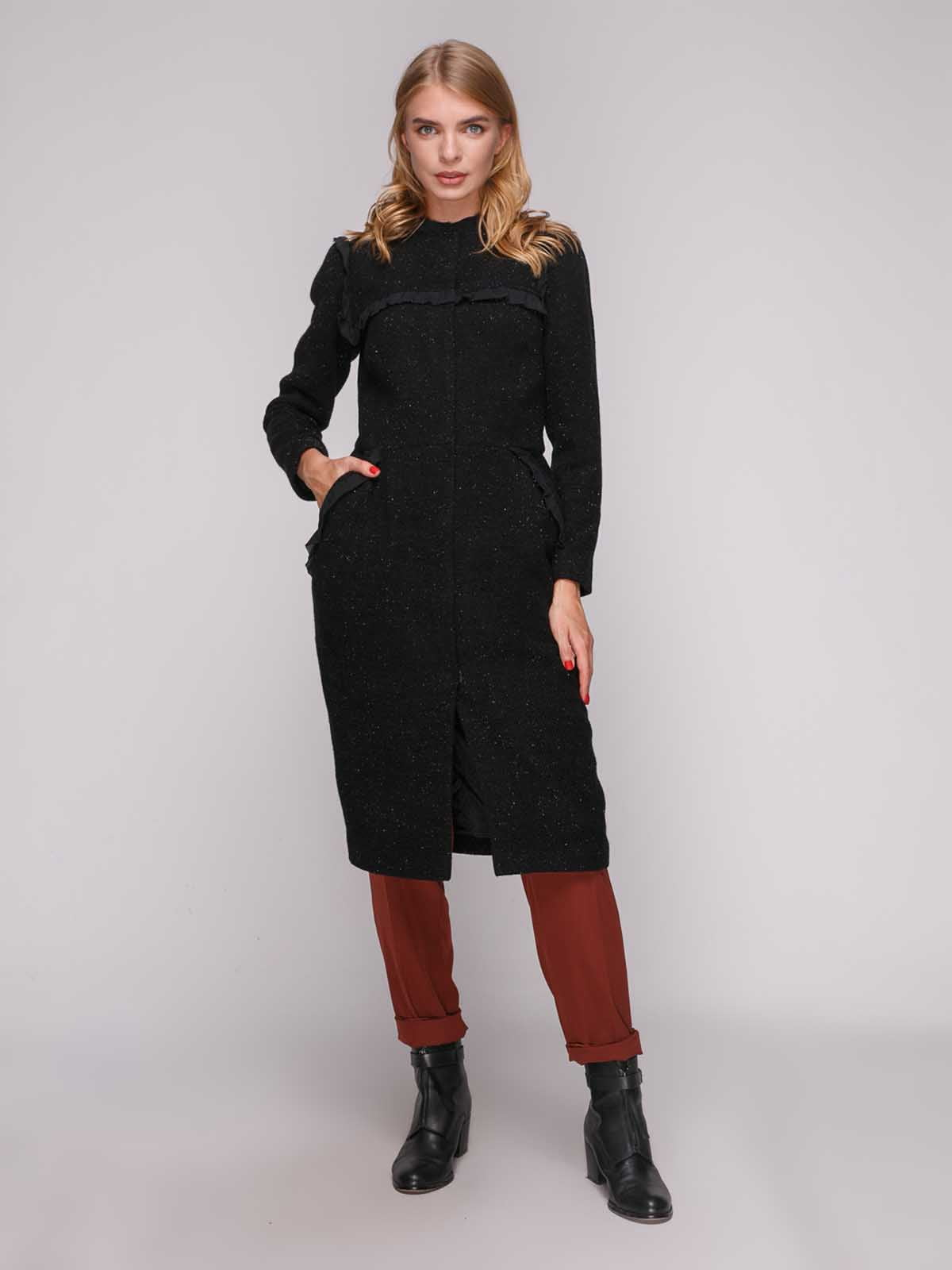 Пальто чорне | 5173519