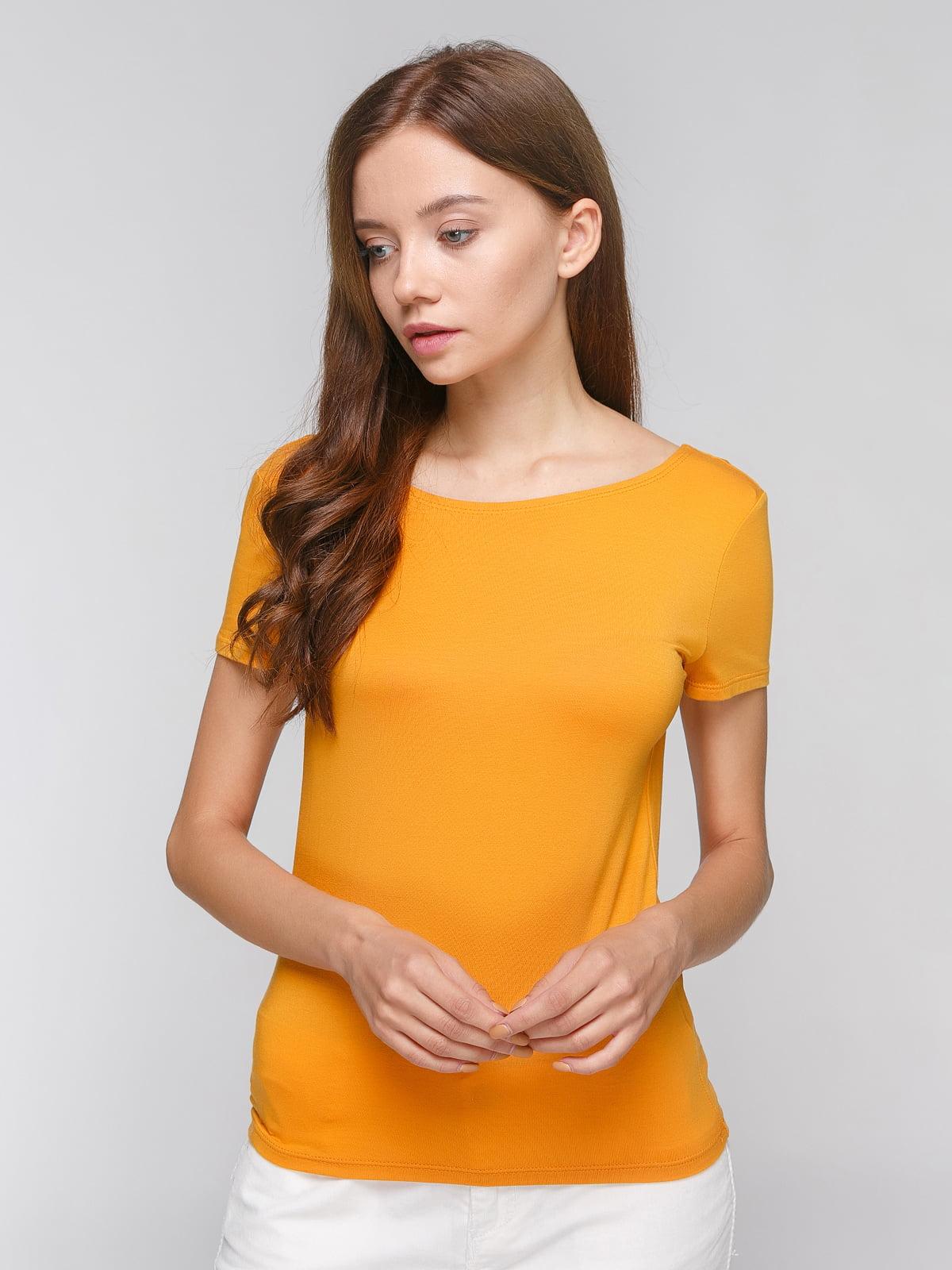 Блуза оранжевая | 3782693