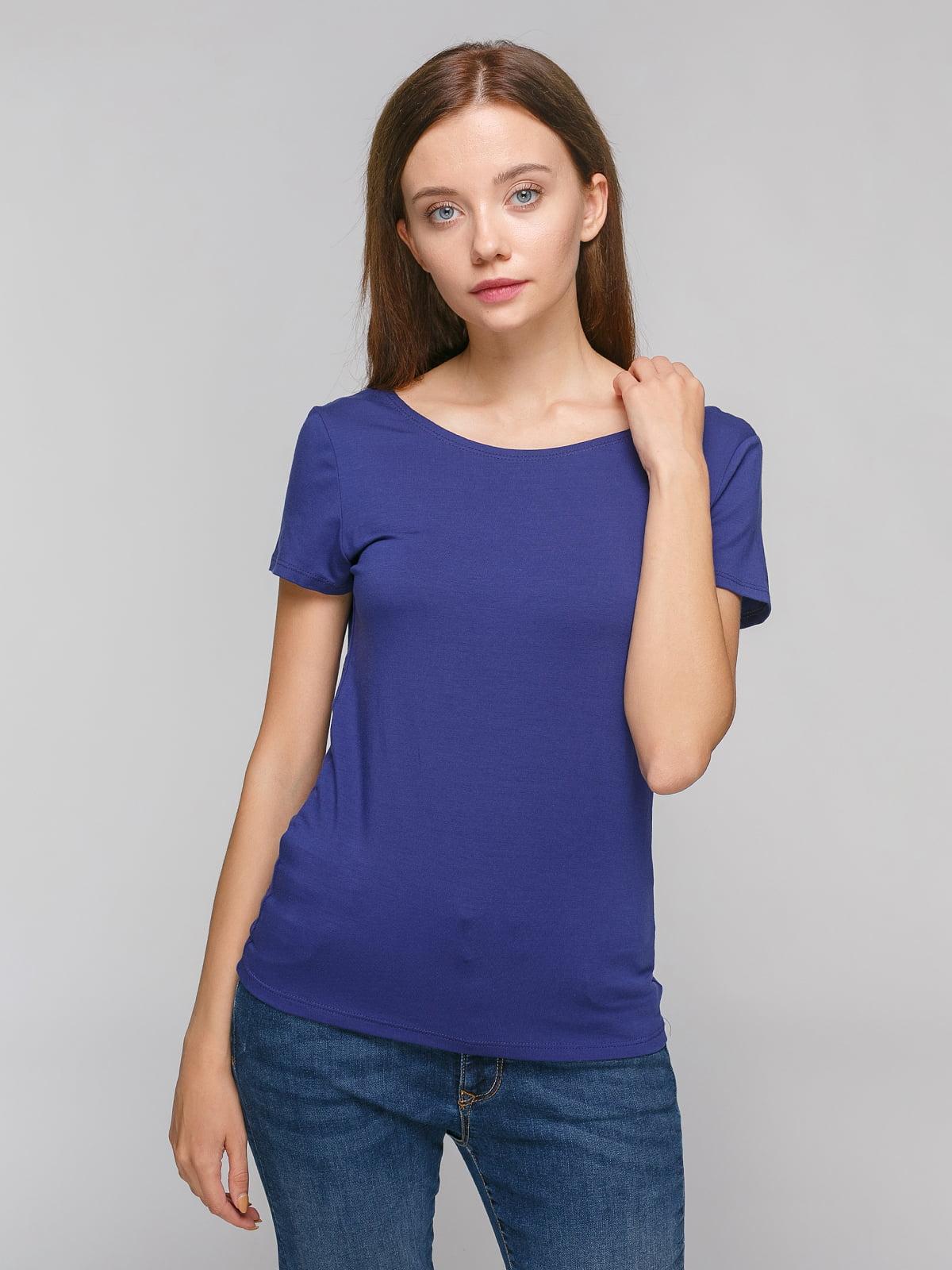 Блуза синяя | 4623006