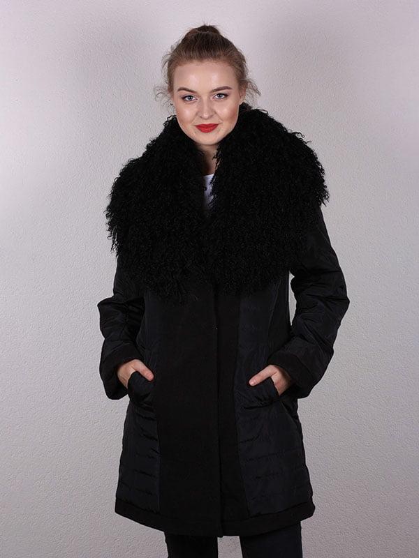 Пальто черное   5099932