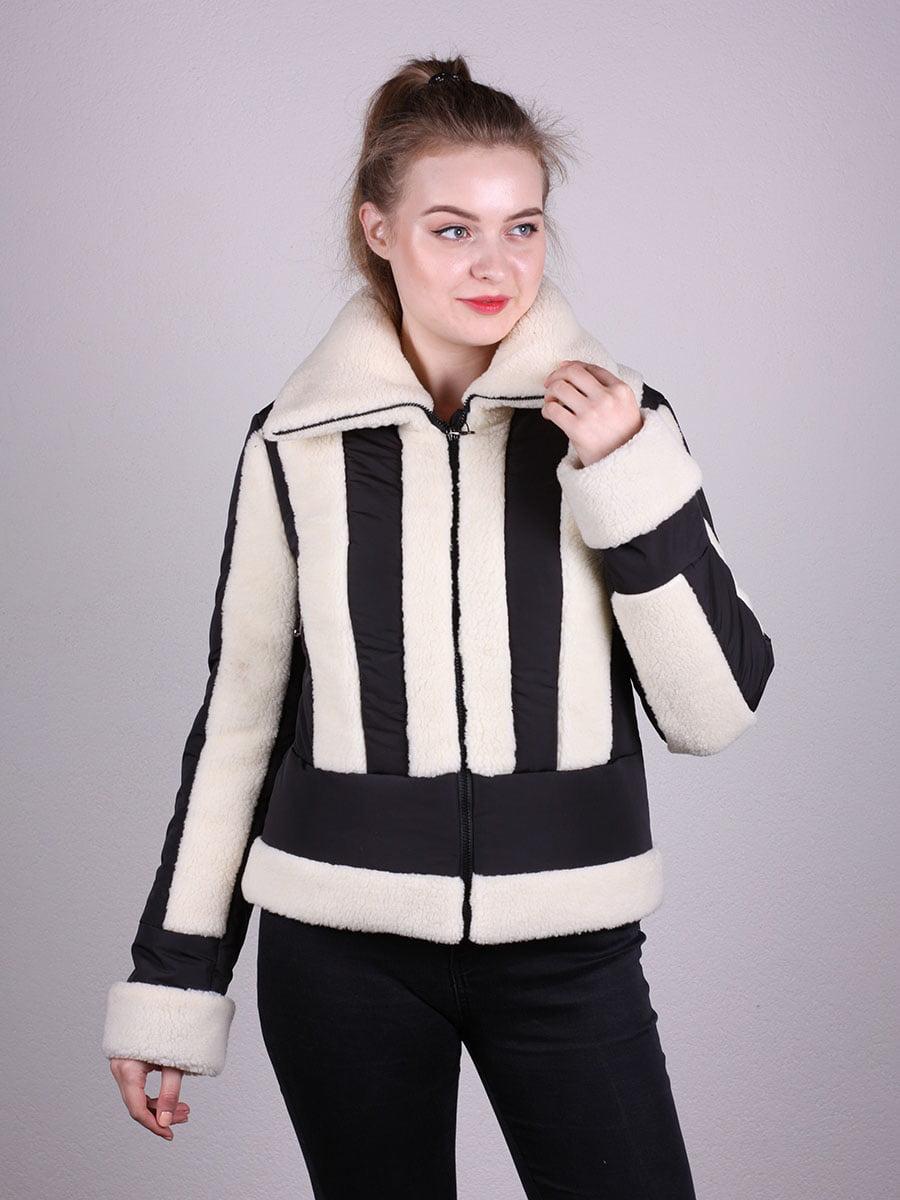 Куртка черно-белая | 5099918