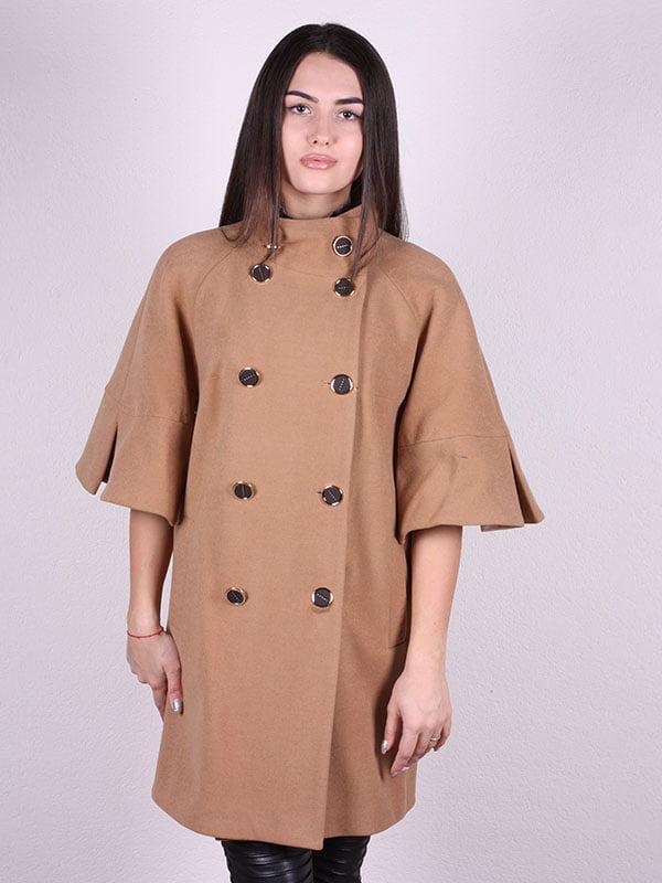 Пальто бежевое | 5099938