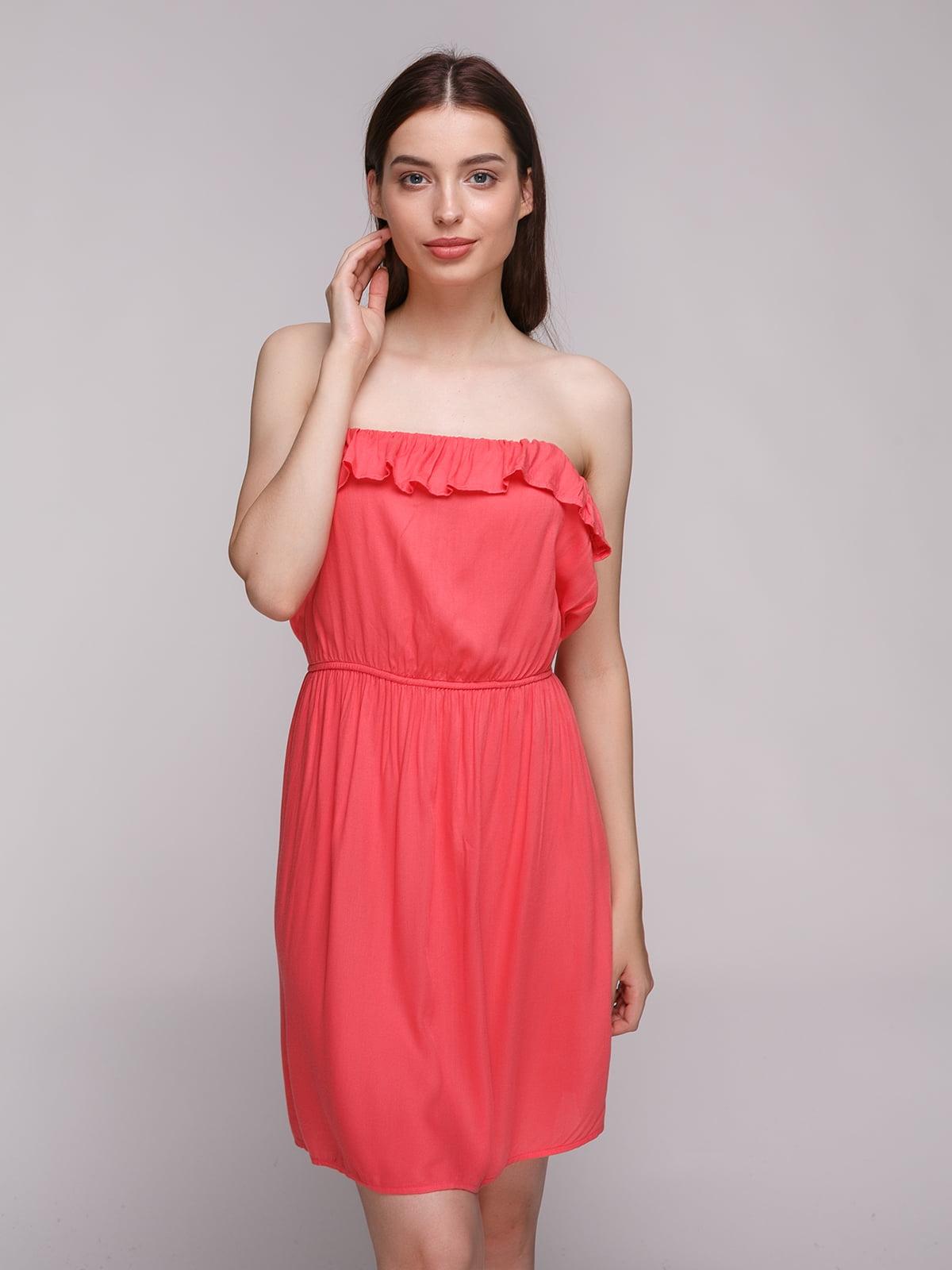 Сукня коралова | 4632608