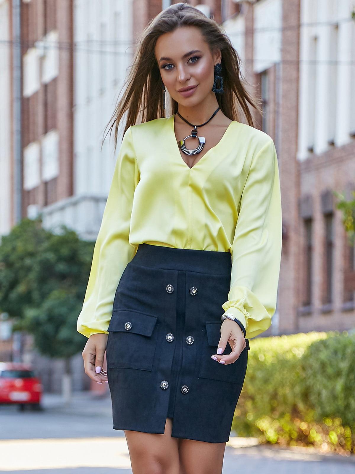 Блуза желтая | 5178768