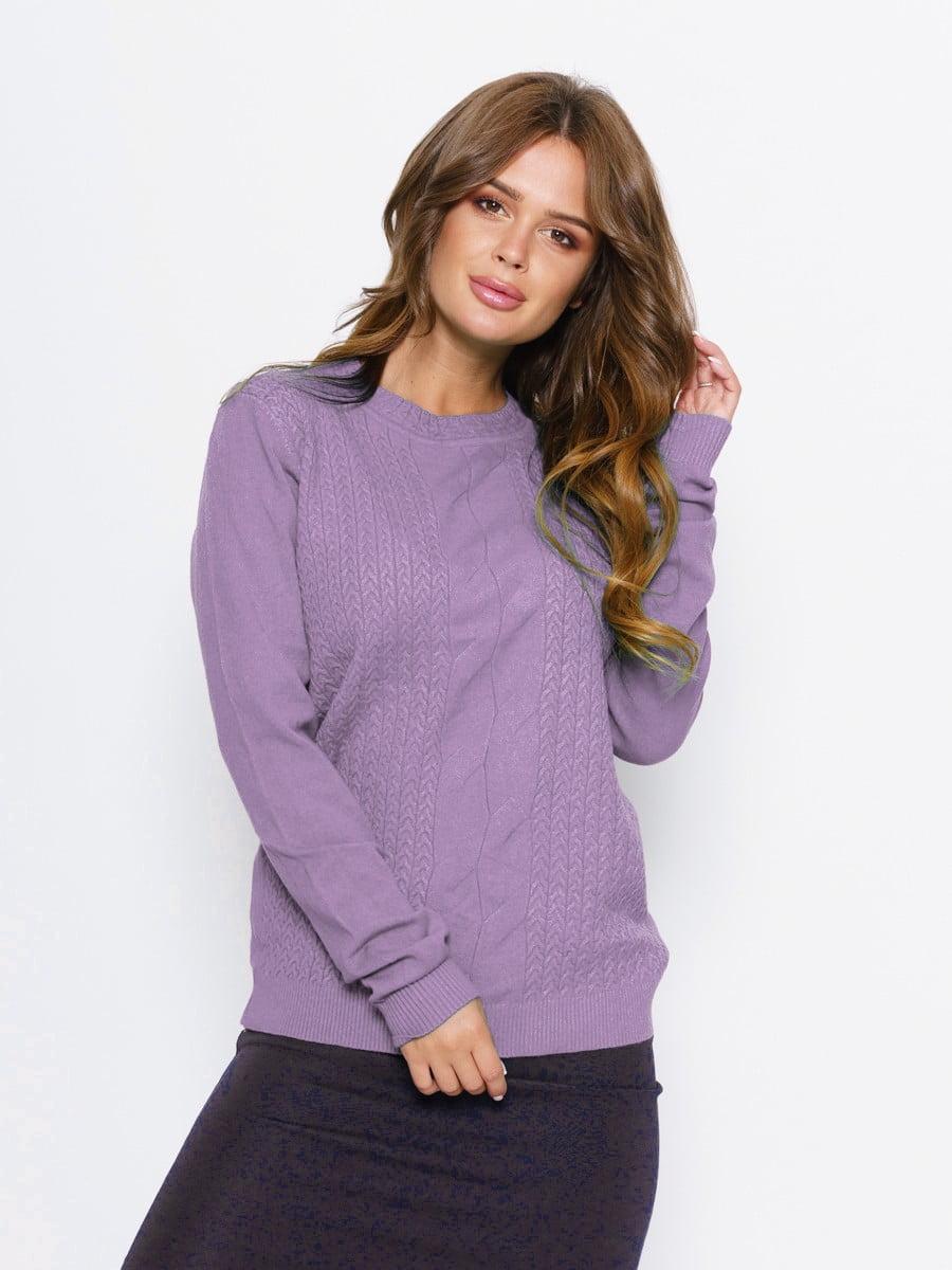 Джемпер фиолетовый | 5178893