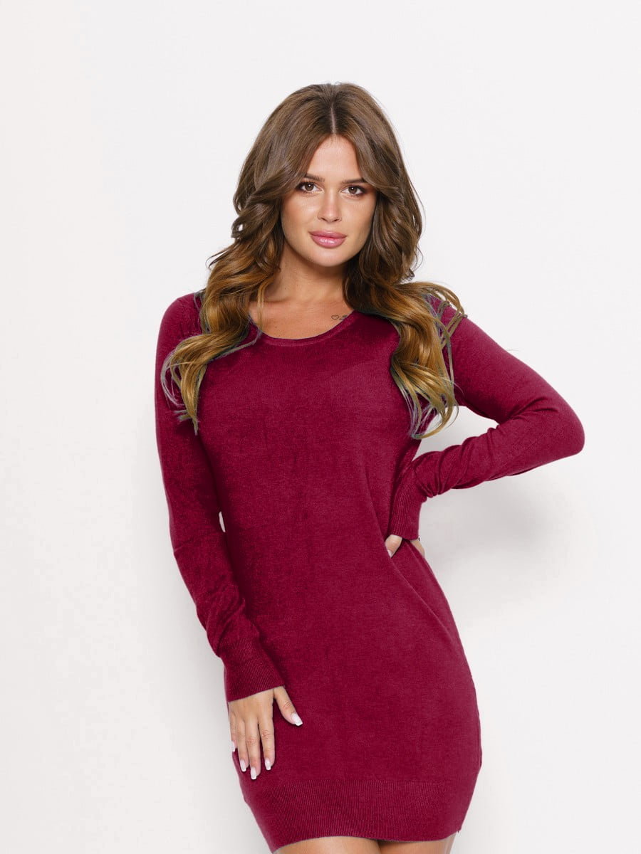 Сукня бордова | 5178900