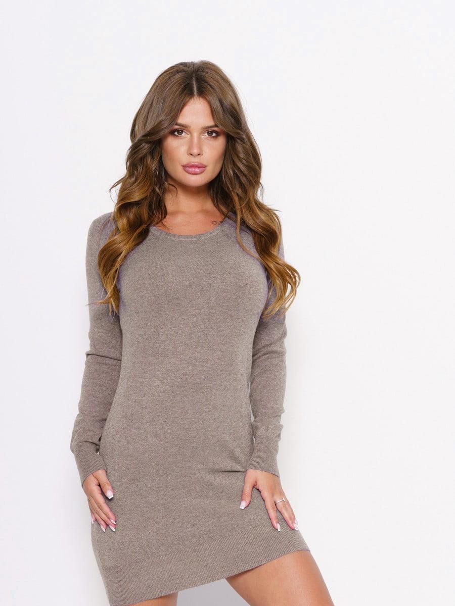 Платье серое | 5178901
