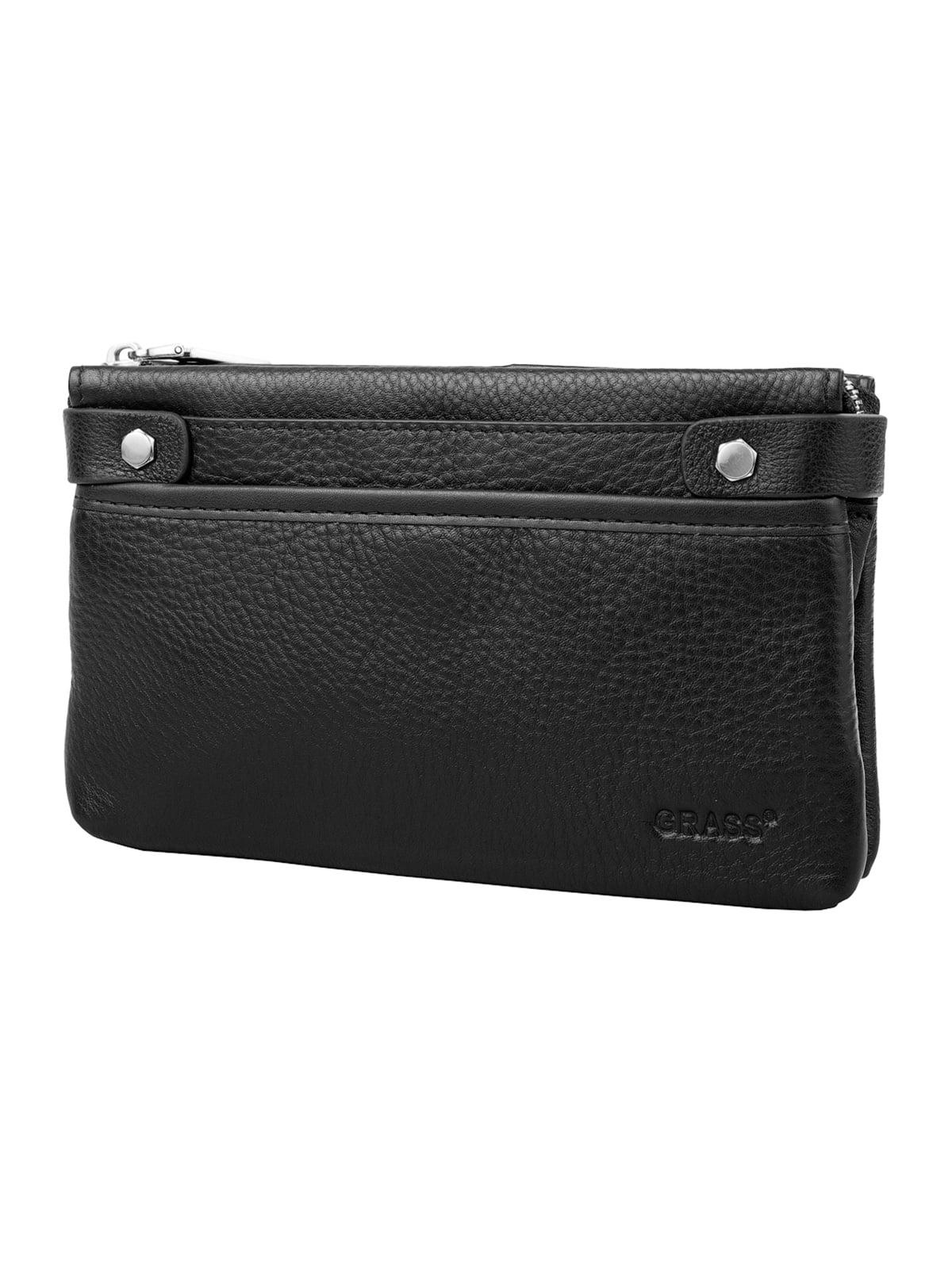 Барсетка-гаманець чорна | 5179183