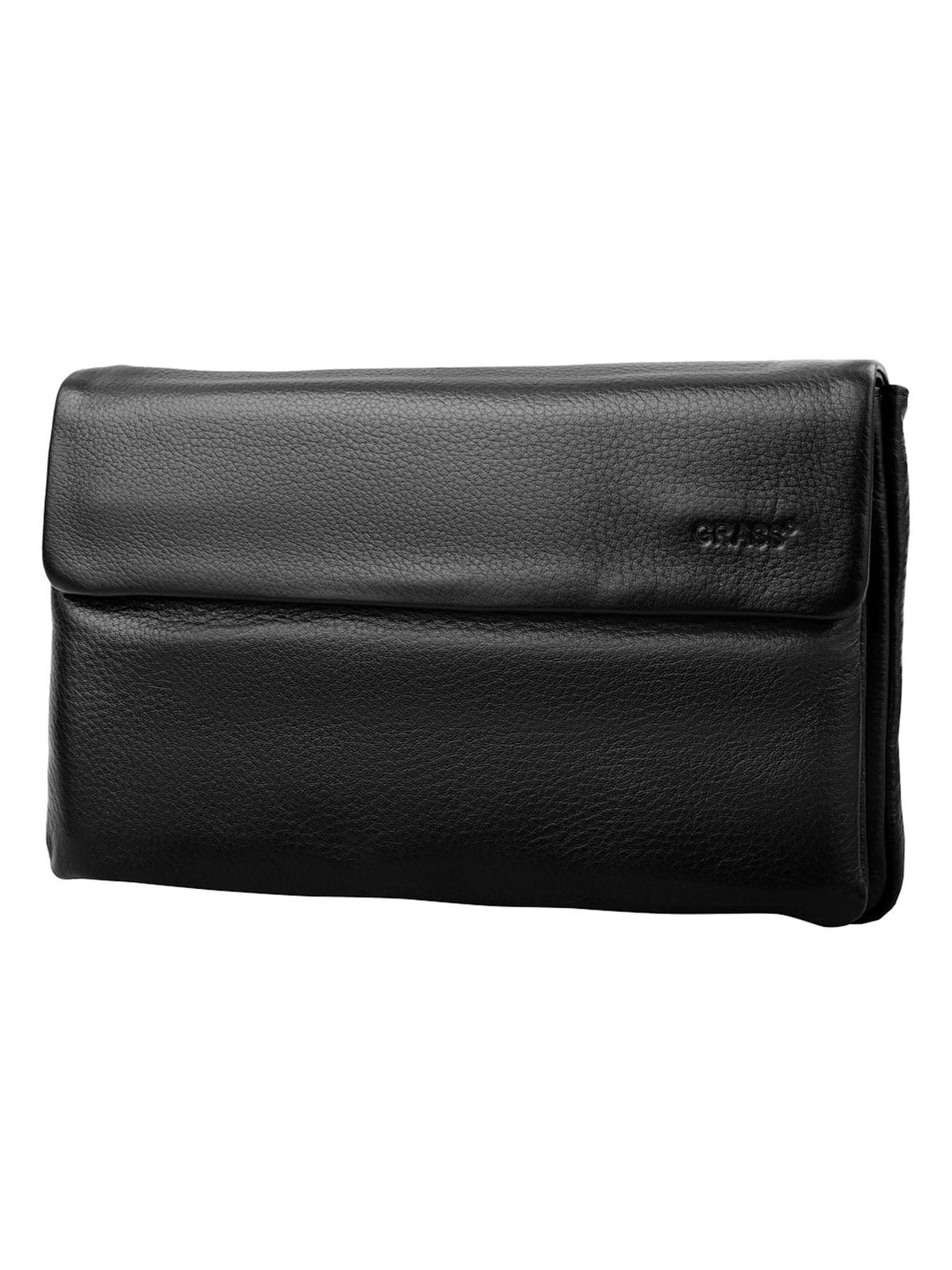 Барсетка-гаманець чорна   5179185