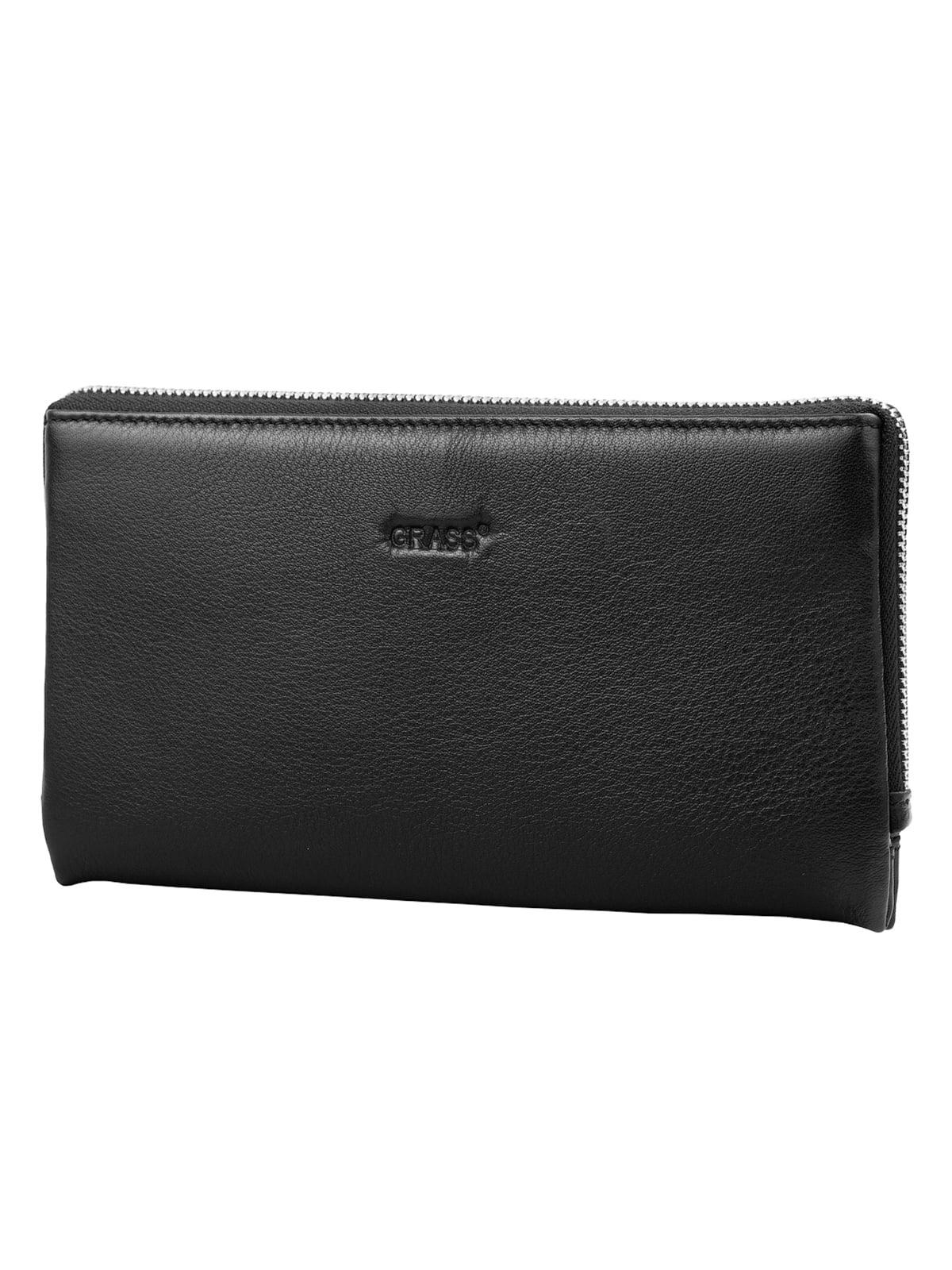 Барсетка-гаманець чорна | 5179186