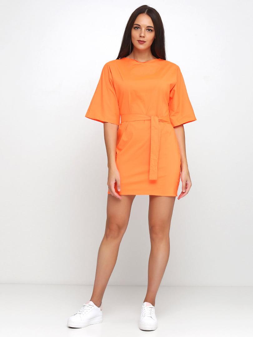 Платье оранжевое | 5179298