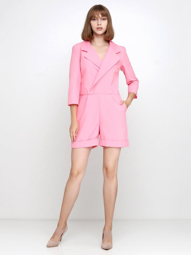 Комбинезон розовый | 5179305