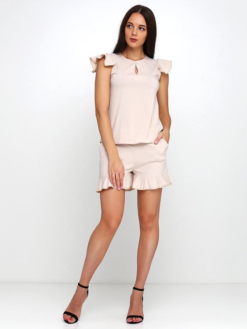 Костюм: блуза и шорты | 5179315