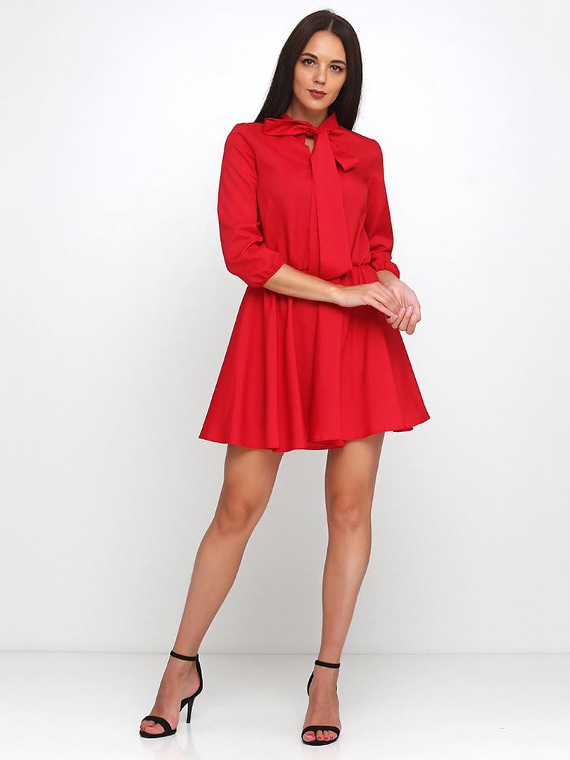 Платье красное | 5179343