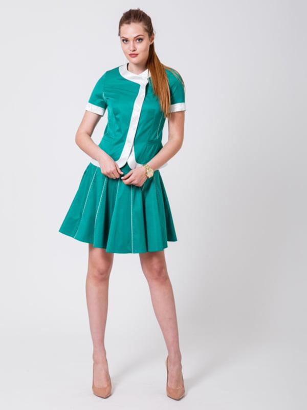 Костюм: жакет и юбка | 5179906