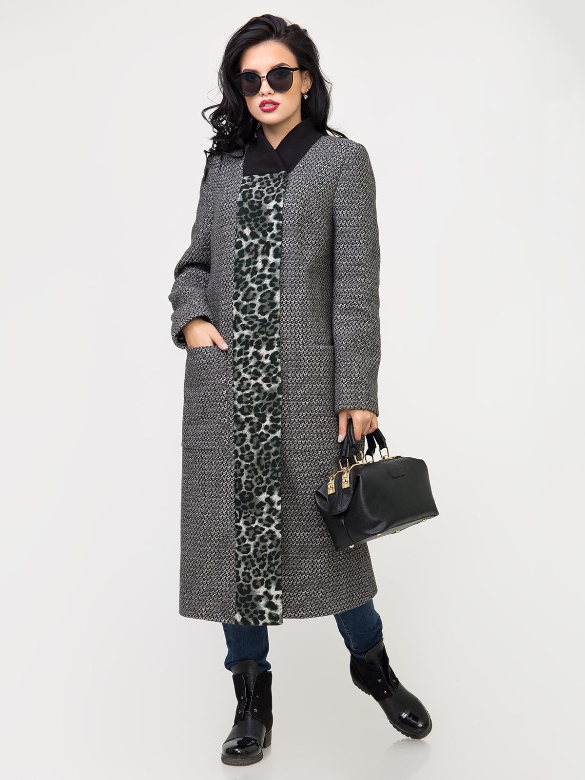 Пальто серое | 5180005