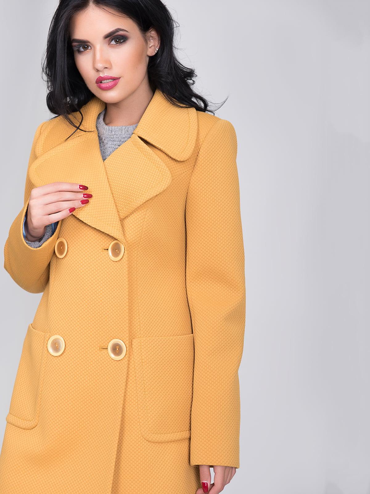 Пальто желтое | 5180039