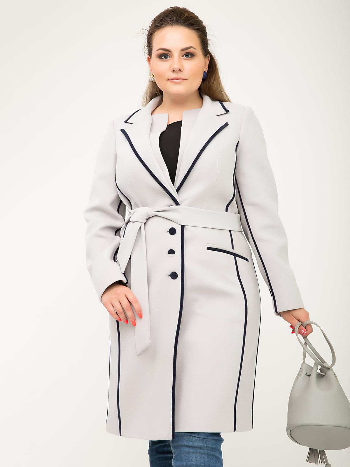 Пальто жемчужного цвета   5180053