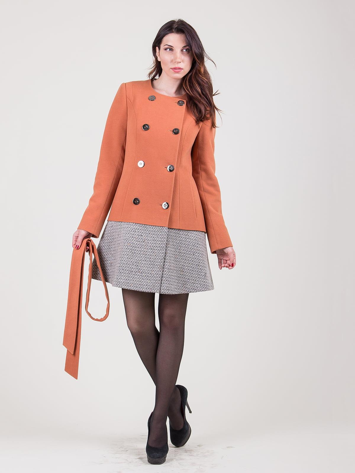 Пальто двухцветное   5180017