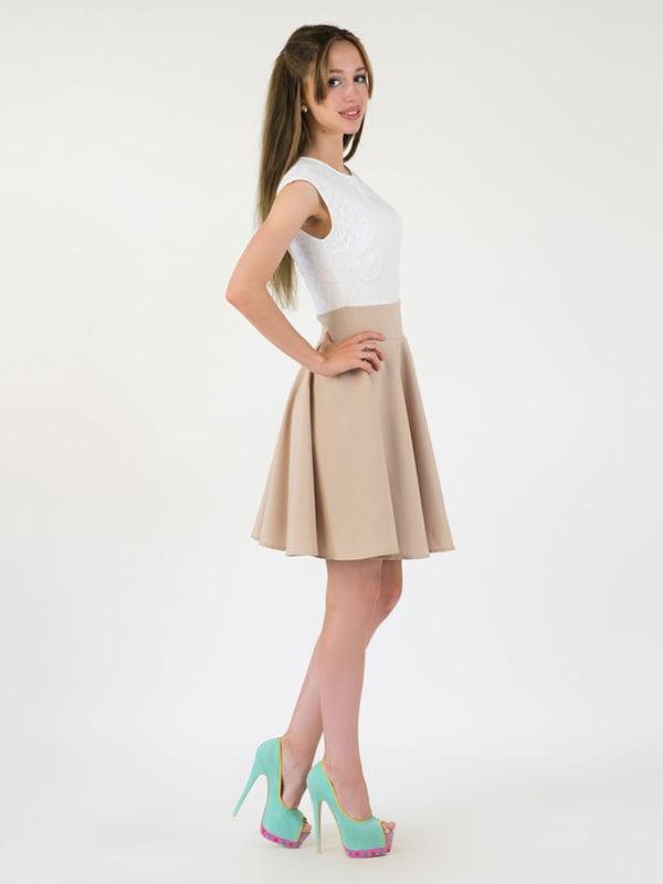 Платье двухцветное | 5035113