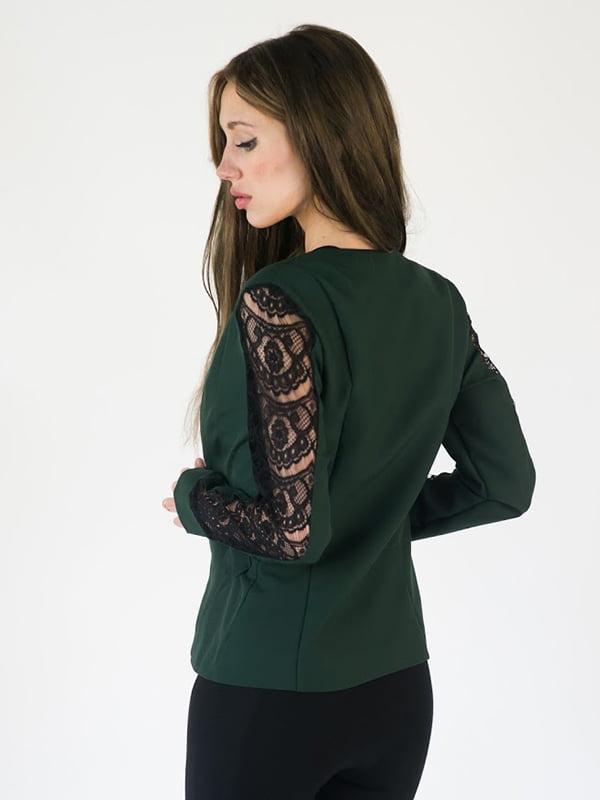 Жакет зеленый | 5035138
